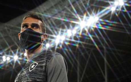 'Só nos resta trabalhar para o jogo com o Cuiabá, pela Copa do Brasil', diz treinador (Vítor Silva/Botafogo)