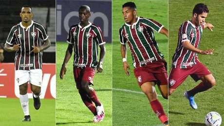Digão, Luiz Henrique, Marcos Paulo e Igor Julião são alguns dos jogadores criados no Flu (Foto: Mailson Santana/FFC)
