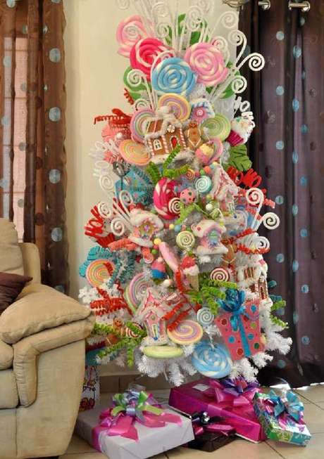 10. Árvore de natal diferente – Via: Pinterest