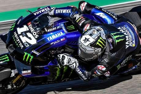 Maverick Viñales tem 12 pontos de atraso para o líder da MotoGP