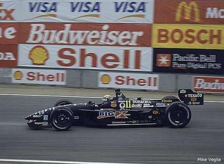 Roberto Moreno na Newman Haas, na Fórmula Indy, substituindo Christian Fittipaldi.