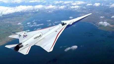 O X-59 da Nasa espera resolver o problema do estrondo sônico