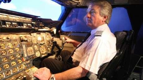 Mike Bannister voou no último voo do Concorde para a British Airways