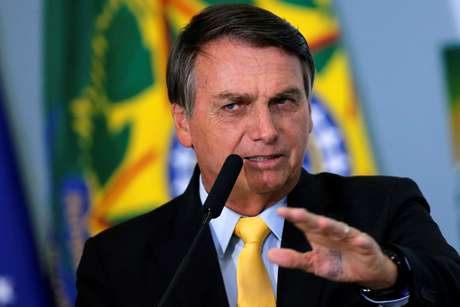 Presidente Jair Bolsonaro durante cerimônia no Palácio do Planalto 19/10/2020 REUTERS/Adriano Machado