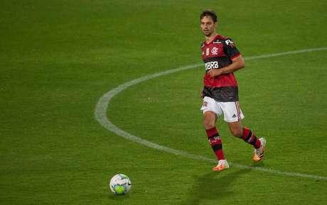 Rodrigo Caio sofreu edema ósseo no joelho (Foto: Alexandre Vidal / Flamengo)