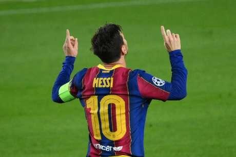 Lionel Messi marcou no meio de semana pela Liga dos Campeões (Foto: AFP)