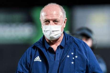 Felipão começou bem o trabalho no Cruzeiro, conseguindo vencer o primeiro compromisso no comando da equipe-(Bruno Haddad/Cruzeiro)