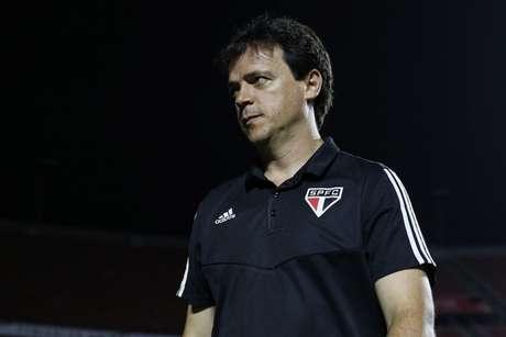 Diniz acredita que o São Paulo está na briga do título dos três torneios que ainda disputa na temporada (Rubens Chiri/saopaulofc.net)