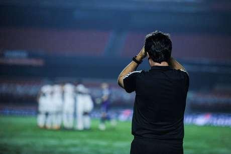 Diniz pode ter dor de cabeça na segunda fase da Copa Sul-Americana (Staff Imagens/Conmebol)