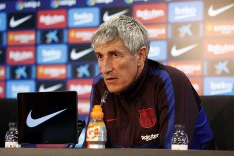 Setién treinou o Barcelona entre janeiro e agosto de 2020 (Foto: Divulgação/FC Barcelona)