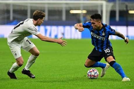 Inter de Milão e Borussia Mönchengladbach somam apenas um ponto (Foto: AFP)