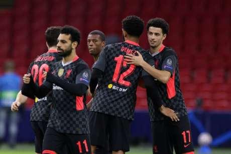 Liverpool garantiu uma vitória importante (Foto: Kenzo Tribouillard / AFP)
