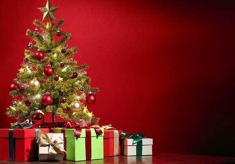 10- O pinheiro de natal artificial pode durar por diversos anos. Fonte: Só Notícia Boa
