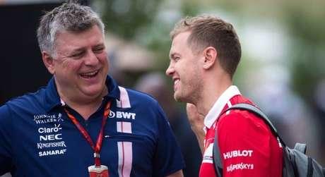 Otmar Szafnauer prometeu que não vai faltar amor a Sebastian Vettel na Aston Martin
