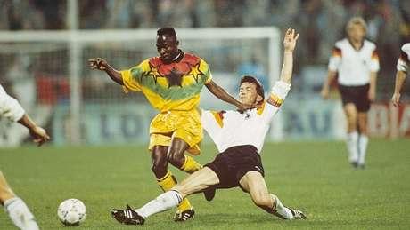 Abedi Pelé é possivelmente o jogador de futebol mais famoso de Gana