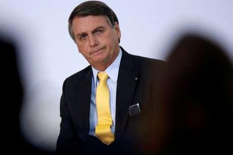 Presidente Jair Bolsonaro durante cerimônia em Brasília 19/10/2020 REUTERS/Adriano Machado