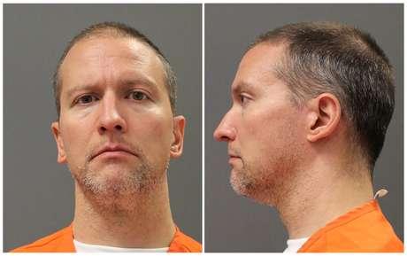 Derek Chauvin Departamento penitenciário de Minnesota/Divulgação via REUTERS