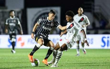Mateus Vital reencontrou o clube que o revelou (Foto: Rodrigo Coca/Agência Corinthians)