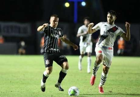 Em São Januário, Corinthians vence o Vasco pelo Brasileirão (Foto: Rodrigo Coca/Agência Corinthians)