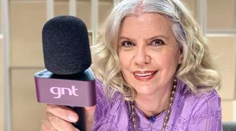 Astrid Fontenelle foi do protesto mímico ao engasgo angustiante no 'Saia Justa'