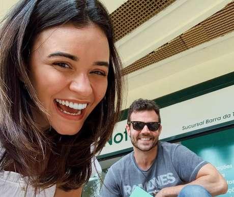 A atriz Talita Younan se casou com João Gomez, filho da atriz Regina Duarte e ex-marido de Regiane Alves