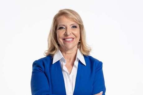 A candidata à Prefeitura de Campinas Delegada Teresinha (PTB)