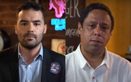 O deputado estadual Arthur do Val (Patriota) eo deputado federal Orlando Silva (PCdoB) realizaram um debate com transmissão na internet