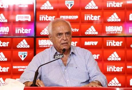 Presidente Leco encerra sua gestão no fim deste ano (Foto : Luis Moura / WPP)