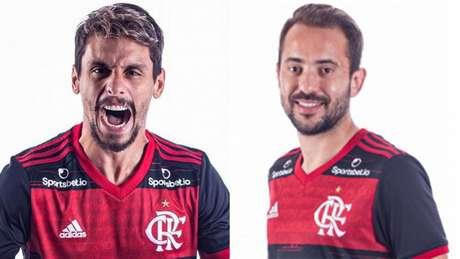Rodrigo Caio e Everton Ribeiro retornam à Seleção (Foto: Alexandre Vidal/Flamengo)