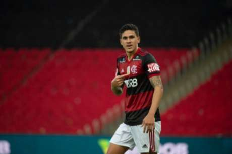 Pedro está na mira da Seleção (Foto: Alexandre Vidal / CRF)