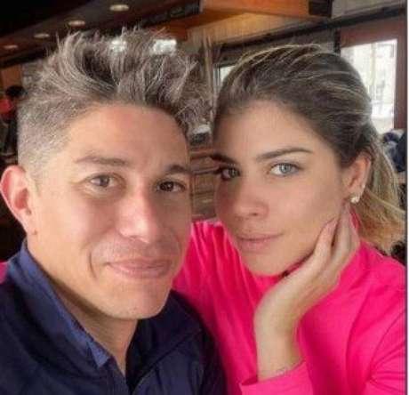 Miriã Rocha e Dario Conca ficaram juntos mais de um ano (Reprodução)