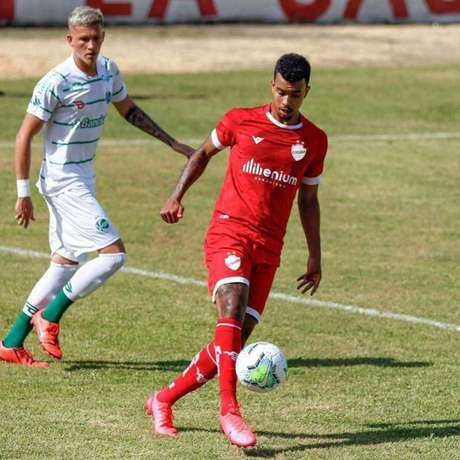Philippe Costa espera ter uma boa passagem pelo Vila Nova (Foto:Gabriel Tadiotto/E.C.Juventude)