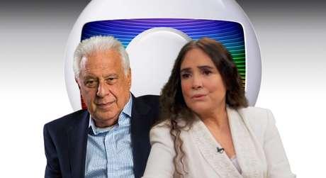 Antonio Fagundes e Regina Duarte trabalharam juntos em sucessos da TV como 'Nina', 'Vale Tudo' e 'Por Amor'