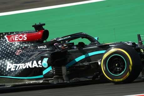 Lewis Hamilton não se acostumou bem com Portimão