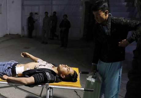 Ataque suicida no setor oeste de Cabul deixa ao menos 13 mortos na capital afegã  Foto: Mohammad Ismail/REUTERS