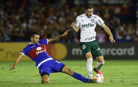 Viña tem excelentes números pelo Palmeiras na Libertadores (Foto: Cesar Greco/Palmeiras)