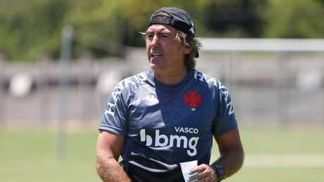 Ricardo Sá Pinto vive os primeiros dias à frente da equipe cruz-maltina (Rafael Ribeiro/Vasco)