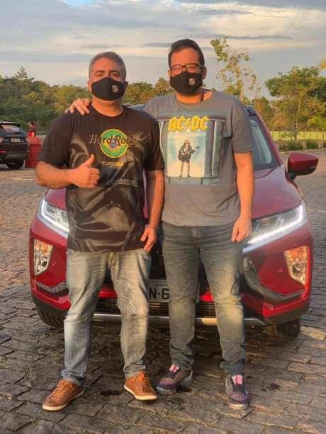 Dupla de gestores santistas vão encarar cerca de 1000km de estrada para acompanhar o Peixe (Foto: Reprodução)