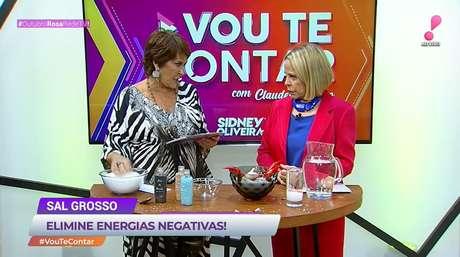 Márcia Fernandes em participação no 'Vou Te Contar' de Claudete Troiano na RedeTV!