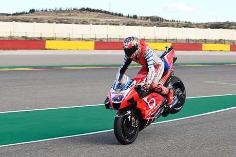 Jack Miller passa pelo Q1 da classificação do GP de Teruel