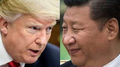Trump aumentou as tensões com a China