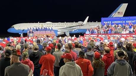 Comício de Trump em Wisconsin