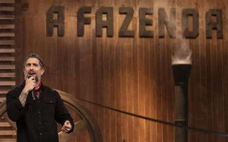 O apresentador de 'A Fazenda',Marcos Mion