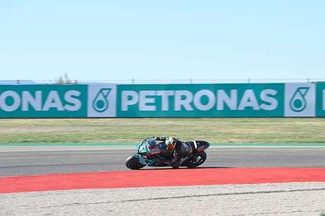 Franco Morbidelli terminou com 2s de vantagem para o restante do pelotão