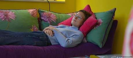 Valerie Giesen: alemã experimenta, meses após cura, exaustão e falta de ar