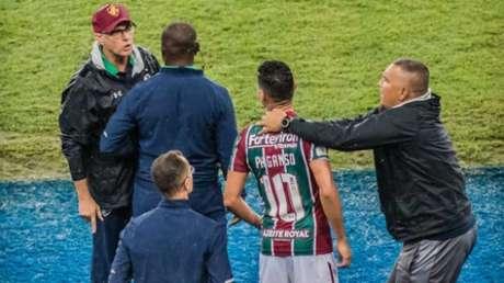 Oswaldo de Oliveira e Ganso se envolveram em discussão no ano passado (Foto: Maga Jr/Ofotografico/Lancepress!)