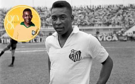 Pelé fez história no Santos, na Seleção Brasileira e no New York Cosmos (Foto: Acervo Pelé/Divulgação)