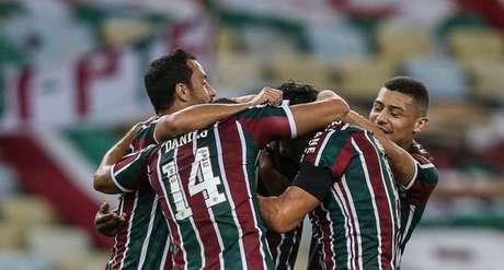 Fluminense marcou no fim para empatar com o Ceará na última rodada (Foto: Lucas Merçon/Fluminense FC)