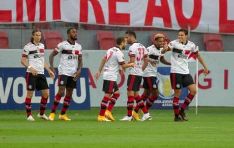 Flamengo empatou no fim (Foto: Raul Pereira/Fotoarena/Lancepress!)