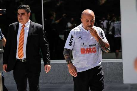 Sampaoli tem contrato com o Galo até o fim de 2021-(Bruno Cantini/Atlético-MG)
